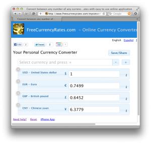 Online Currency Converter Web Application